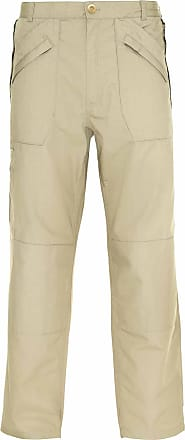 Champion Wenlock Mens Classic Lightweight Poly Cotton Chino Trouser 2 Lengths - Stone - 44W / 31L