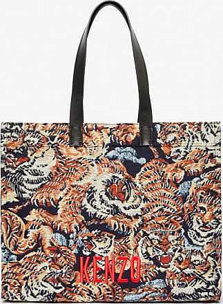 Kenzo Jungle Flying Tiger tote bag