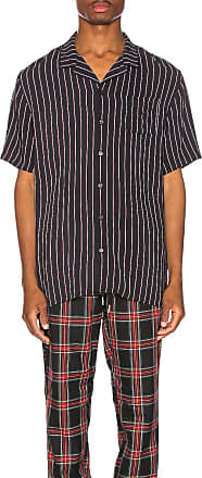 Zanerobe Twinstripe Shirt in Black
