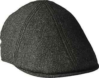 f5a70785 Goorin Brothers Mens Andy Hamill Wool Ivy Newsboy Hat, Charcoal, Medium