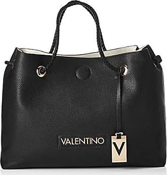 fad9d29d Mario Valentino VBS0ID02 - Bolsa de Poliuretano Mujer, color Negro, talla  12.5x30.