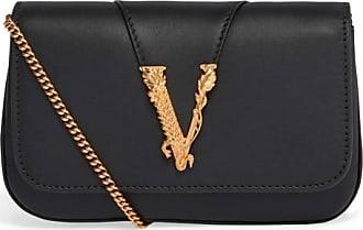 Versace Sac de soirée Virtus en cuir
