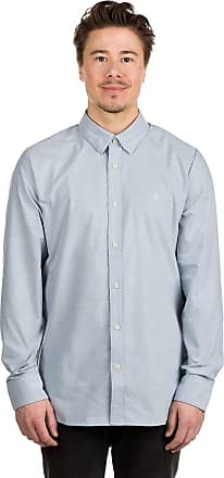 Volcom Oxford Stretch Shirt wrecked indigo