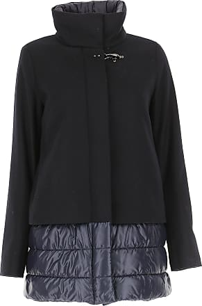 47b4c724a384 Fay Piumino Donna On Sale in Outlet, Blue Navy, Lana, 2017, 40