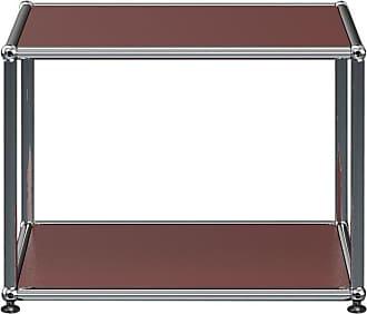 USM Haller Beistelltisch 52,3x39x41,8cm - USM braun/BxHxT 52,3x39x41,8