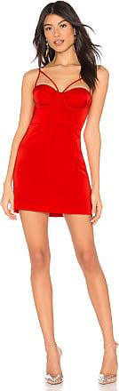 NBD Melanie Mini Dress in Red