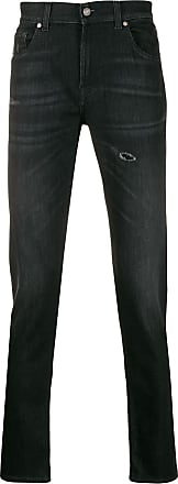 7 For All Mankind Calça jeans cenoura - Preto