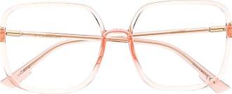 Dior Occhiali squadrati - Di colore rosa