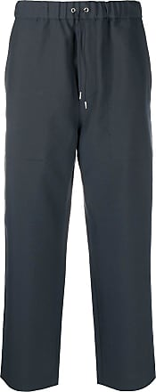 OAMC straight-leg drawstring trousers - Blue