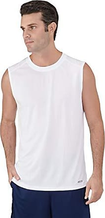 dd15f28cf Russell Athletic Mens Dri-Power Performance Mesh Sleeveless Muscle, White XL