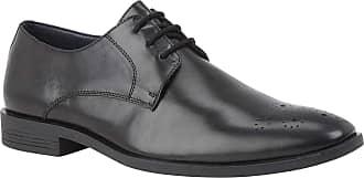 Lotus Black Cameron Leather Lace-Up Shoes 10