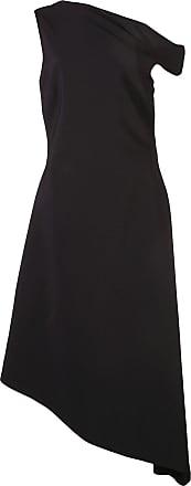Rosetta Getty Vestido ombro único - Preto