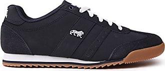 1ad37da6ff821 Lonsdale Herren Lambo Turnschuhe Freizeit Sneaker Schnuerschuhe Sport Schuhe  Marineblau 8.5 (42.5)