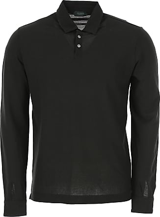 Incotex Polo Shirt for Men On Sale, Black, Cotton, 2017, XXL