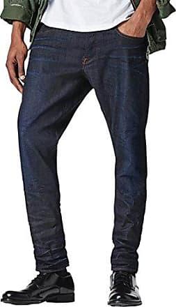 G-Star Mens 3301 Tapered Fit Pant in Visor Stretch Denim Dk Aged, 30x32