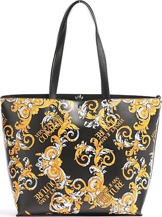 Versace Jeans Couture Shopper schwarz/gold