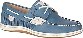 Sperry Top-Sider Womens Koifish Mesh Boat Shoe, Slate Blue, 110 M US