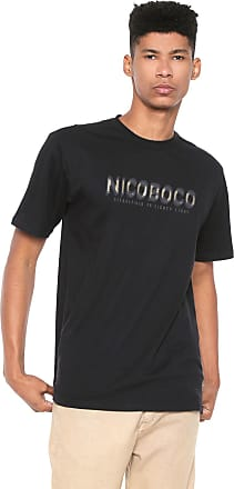 NICOBOCO Camiseta Nicoboco Hawaii Preta