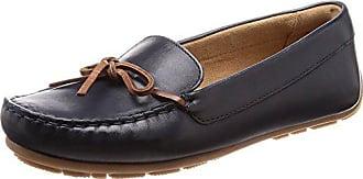 1f19376599 Clarks Damen Dameo Swing Mokassin, Schwarz (Navy Leather), 35.5 EU