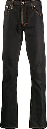 Nudie Jeans Calça jeans reta - Azul