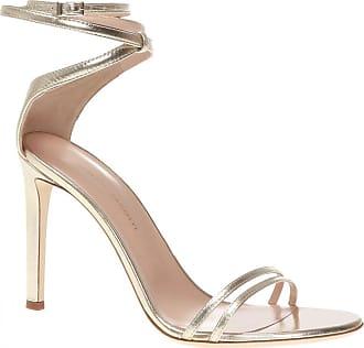 Giuseppe Zanotti Delicius Stiletto Sandals Womens Gold