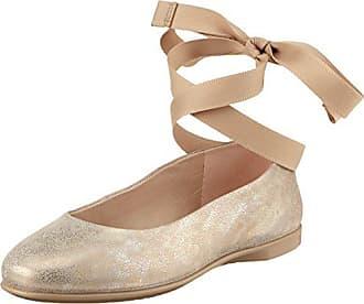 4d90bf7501cbad Ecco Damen Incise Geschlossene Ballerinas Silber (Moon Rock 2459)