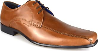 Redtape Munster Tan Mens Leather Formal Lace-Up Shoes
