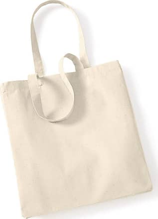 Westford Mill W/Mill Canvas Classic Shopper Colour=Natural Size=O/S