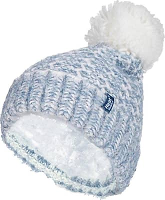 Heat Holders 1 Ladies Genuine Heatweaver Thermal Winter Warm HAT 5 Variations - Alesund, Nora, Solna, Areden, Lund (Denim/Cream - Lund)