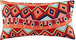 Natori Hollywood Fashion Throw Pillow, 12 x 22, Orange