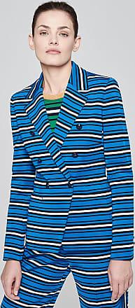 Escada Stripe Jersey Blazer