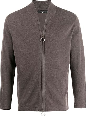 N.Peal zipped-up cardigan - Brown