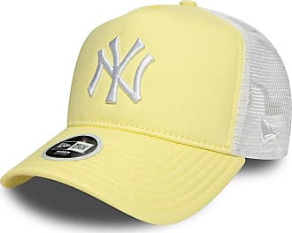 d72b8af08a5321 New Era Cap - Ajustable MLB New York Yankees Leag Esntl Trucker  Yellow/White Size