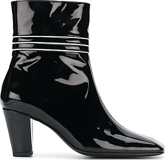 DORATEYMUR varnished ankle boots - Black