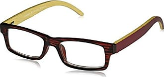 Peepers Unisex-Adult Sierra 2365200 Rectangular Reading Glasses, Burgundy, 2