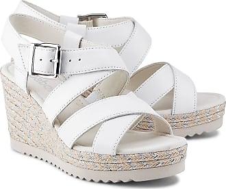 Gabor Keilsandalette für Damen in weiß | P&P Shoes