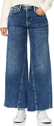 Pepe Jeans London Womens Hailey 7/8 Flared Jeans, (Archive Dark Used Denim 000), W29/L30