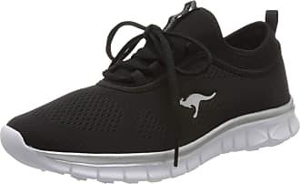 Kangaroos Womens K-Run Neo S Low-Top Sneakers, Black (Jet Black/Silver 5002), 6.5 UK