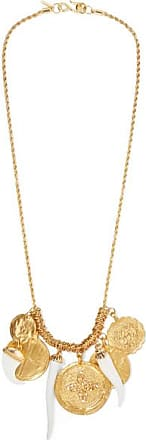 Kenneth Jay Lane Gold-plated And Resin Necklace