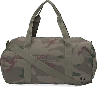 Fred Perry BOLSA MASCULINA CAMOUFLAGE BARREL - VERDE