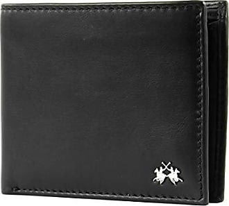 LA MARTINA Rio Tortoni Wallet with Purse CC Geldbörse Geldbörse Black Schwarz
