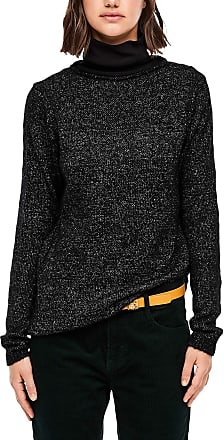 Q/S designed by Womens 45.899.61.2605 Sweater, Black Mix, L