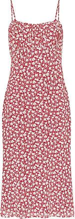 Reformation Vestido midi Arie com estampa floral - Vermelho