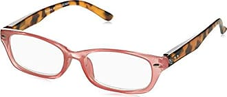Peepers Womens Straight & Narrow 2391225 Rectangular Reading Glasses, Pink, 2.25