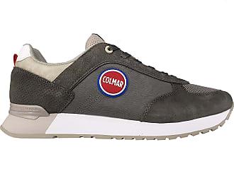 Shuhe COLMAR Mann Sneakers trendy GRIGIO//BLU  SUPREMP-056