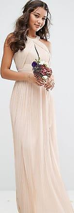 e2b06222036 Tfnc Robe longue plissée pour demoiselle dhonneur en exclusivité - Rose  perle - Rose