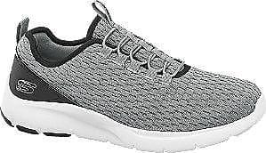 38fe31da615 Skechers Grijze Sneaker Elastische Vetersluiting Heren (maat 46)