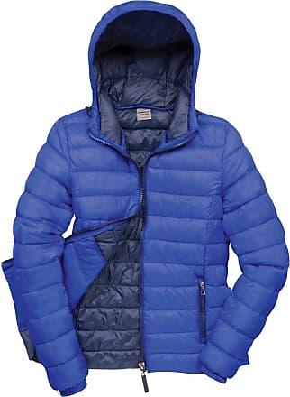 Result Urban Womens/Ladies Snowbird Hooded Jacket (XL) (Royal/Navy)
