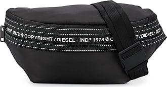 Diesel Pochete com estampa copyright - Preto