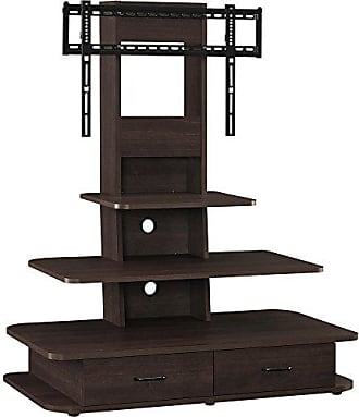 Dorel Home Products Ameriwood Home Galaxy TV Stand with Mount and Drawers for TVs up to 70 Wide, Espresso